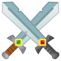 Crossed Swords on Google Android 9.0