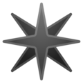 Eight-Pointed Star on Google Android 9.0