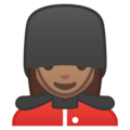 Woman Guard: Medium Skin Tone on Google Android 9.0