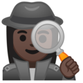 Woman Detective: Dark Skin Tone on Google Android 9.0