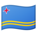 Flag: Aruba on Google Android 9.0