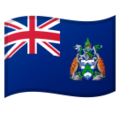 Flag: Ascension Island on Google Android 9.0
