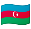 Flag: Azerbaijan on Google Android 9.0