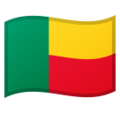 Flag: Benin on Google Android 9.0