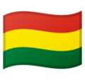 Flag: Bolivia on Google Android 9.0
