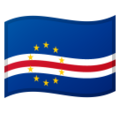 Flag: Cape Verde on Google Android 9.0