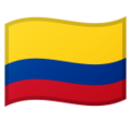 Flag: Colombia on Google Android 9.0