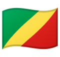 Flag: Congo - Brazzaville on Google Android 9.0