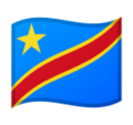 Flag: Congo - Kinshasa on Google Android 9.0