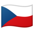 Flag: Czechia on Google Android 9.0