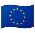 Flag: European Union on Google Android 9.0