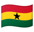 Flag: Ghana on Google Android 9.0