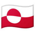 Flag: Greenland on Google Android 9.0