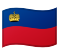 Flag: Liechtenstein on Google Android 9.0