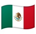 Flag: Mexico on Google Android 9.0