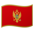 Flag: Montenegro on Google Android 9.0