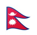 Flag: Nepal on Google Android 9.0