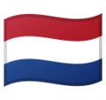 Flag: Netherlands on Google Android 9.0