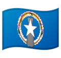 Flag: Northern Mariana Islands on Google Android 9.0