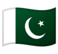 Flag: Pakistan on Google Android 9.0