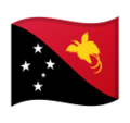 Flag: Papua New Guinea on Google Android 9.0
