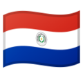 Flag: Paraguay on Google Android 9.0