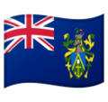 Flag: Pitcairn Islands on Google Android 9.0
