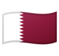 Flag: Qatar on Google Android 9.0
