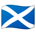 Flag: Scotland on Google Android 9.0