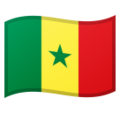 Flag: Senegal on Google Android 9.0