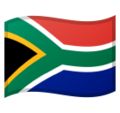 Flag: South Africa on Google Android 9.0