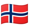 Flag: Svalbard & Jan Mayen on Google Android 9.0