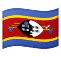 Flag: Swaziland on Google Android 9.0