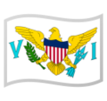 Flag: U.S. Virgin Islands on Google Android 9.0