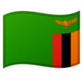 Flag: Zambia on Google Android 9.0