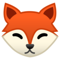 Fox Face on Google Android 9.0