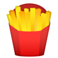 French Fries on Google Android 9.0