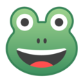 Frog Face on Google Android 9.0