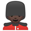 Guard: Dark Skin Tone on Google Android 9.0