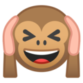 Hear-No-Evil Monkey on Google Android 9.0