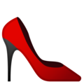 High-Heeled Shoe on Google Android 9.0