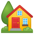 House With Garden on Google Android 9.0