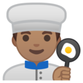 Man Cook: Medium Skin Tone on Google Android 9.0