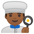 Man Cook: Medium-Dark Skin Tone on Google Android 9.0