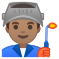 Man Factory Worker: Medium Skin Tone on Google Android 9.0