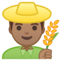 Man Farmer: Medium Skin Tone on Google Android 9.0