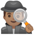 Man Detective: Medium Skin Tone on Google Android 9.0