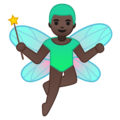 Man Fairy: Dark Skin Tone on Google Android 9.0