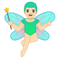 Man Fairy: Light Skin Tone on Google Android 9.0
