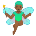 Man Fairy: Medium-Dark Skin Tone on Google Android 9.0